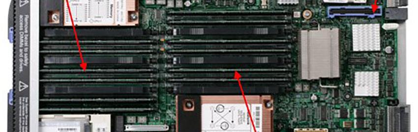 IBM HS22V Blade Server Teardown